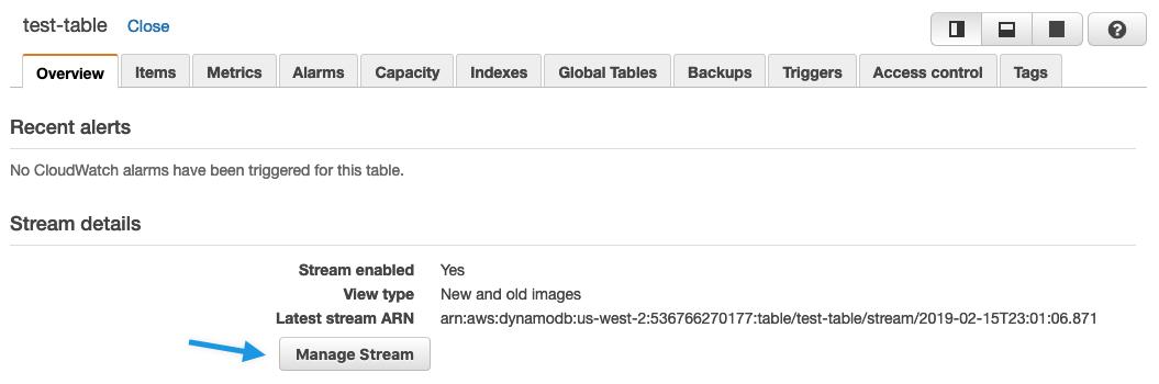 DynamoDB Events - Jets Ruby Serverless Framework