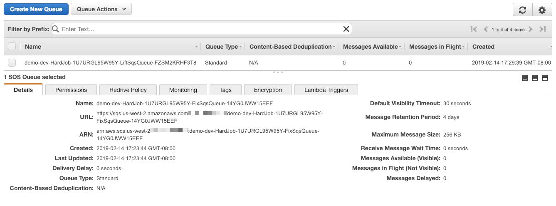 SQS Events - Jets Ruby Serverless Framework